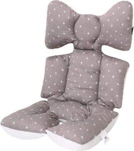 Accessoires poussettes - Coussin de Siège Réversible pour Poussette Matelas Universel